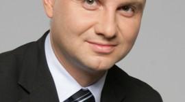 Il neopresidente polacco Duda.