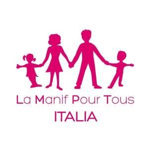 Il simbolo di Manif pour Tous Italia