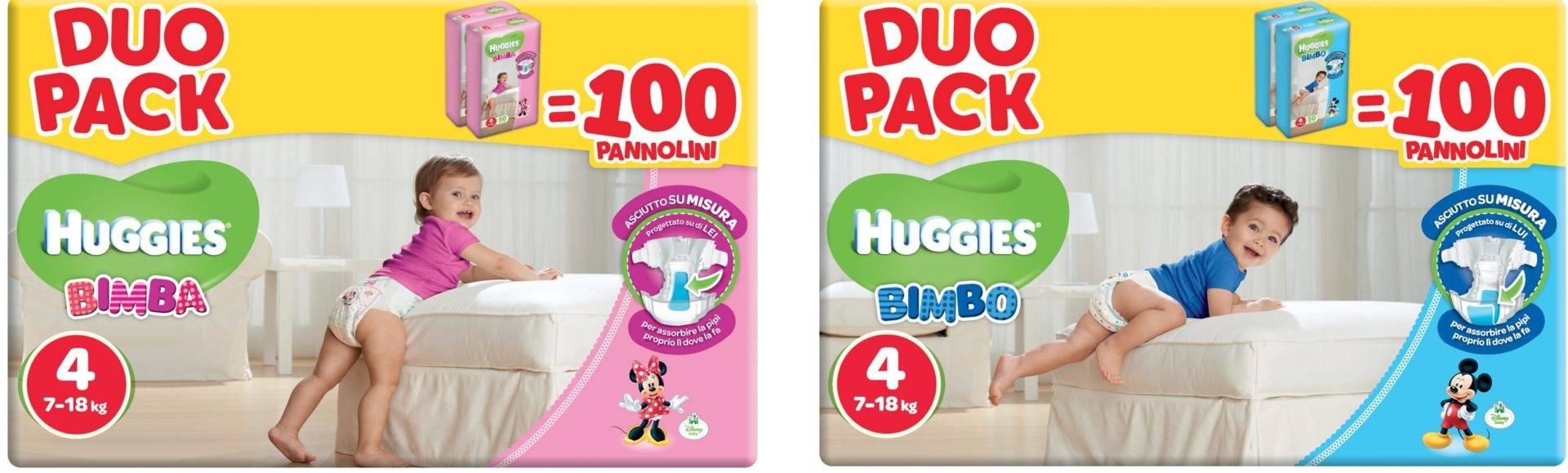 La pubblicità dei pannolini Huggies incriminata