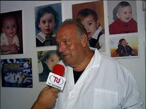 Il professor Boscia, presidente dell'Amci.