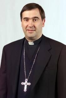 Il vescovo Claudio Maniago