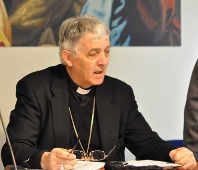 Il cardinale Edoardo Menichelli