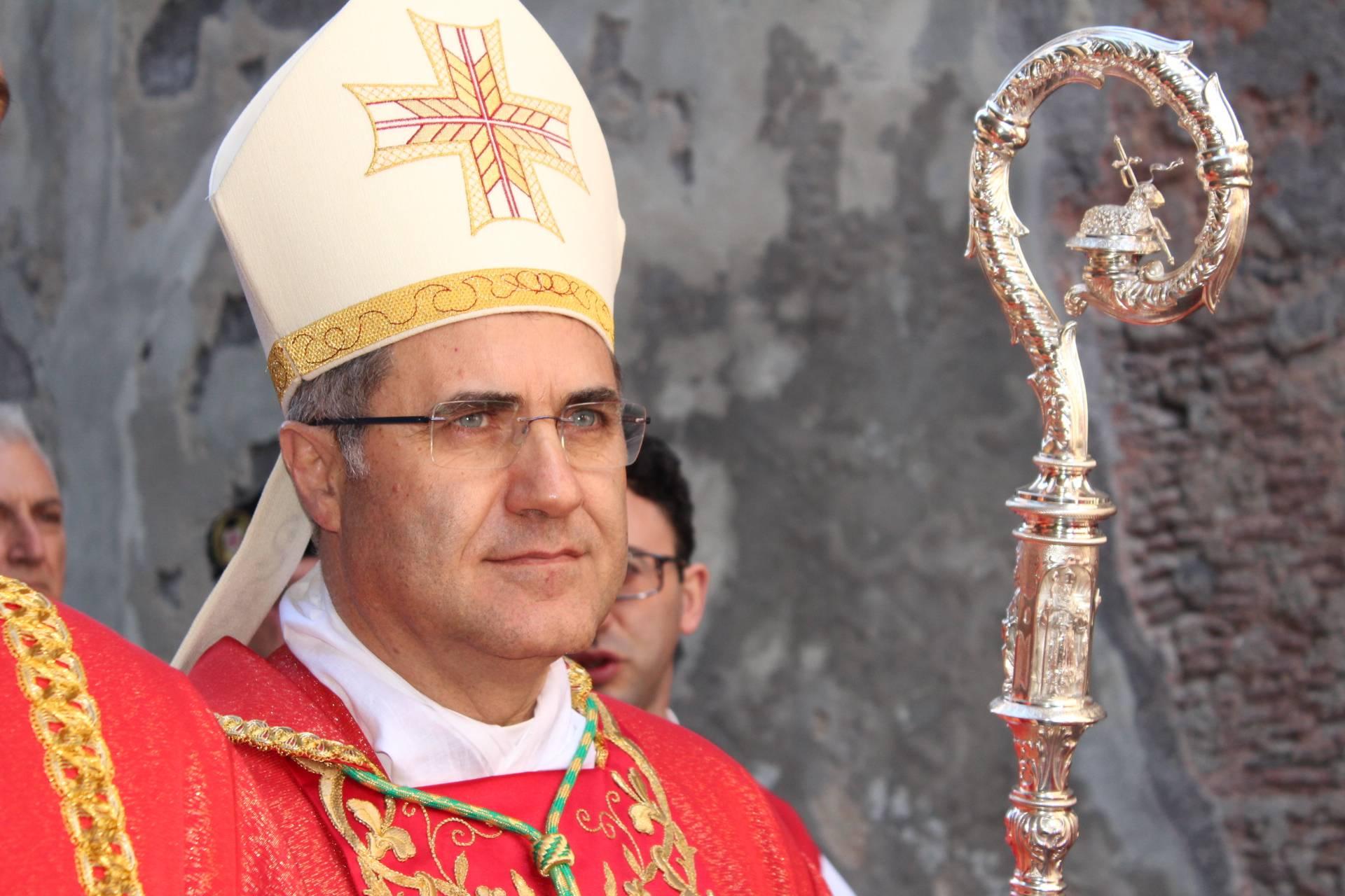 L'arcivescovo di Palermo, monsignor Corrado Lorefice.